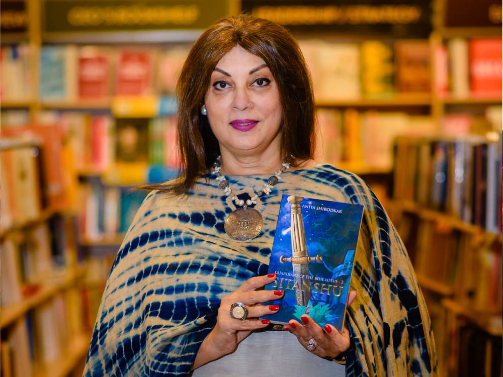 Author Anita Shirodkar